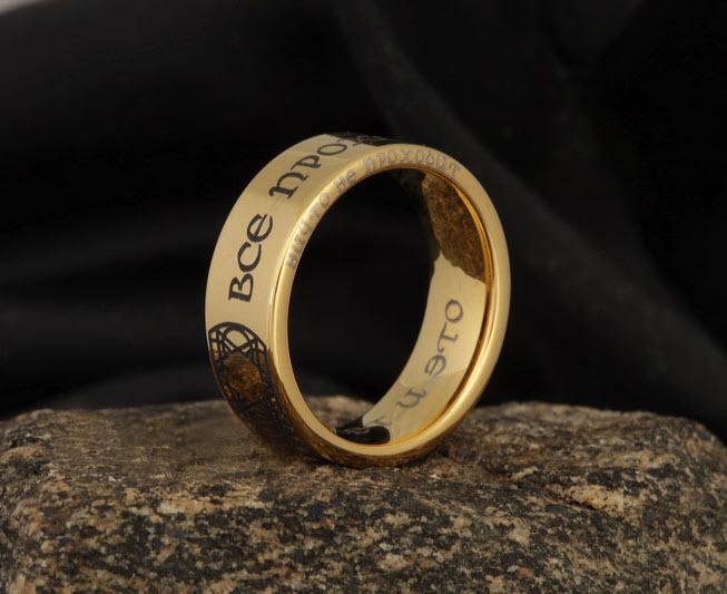 Картинки кольцо с надписью все пройдет, скрапбукинга мастер класс